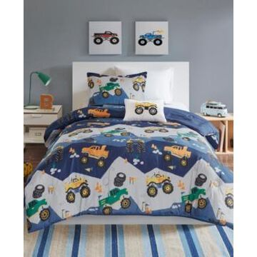 Mi Zone Kids Nash Twin 3 Piece Printed Comforter Set Bedding