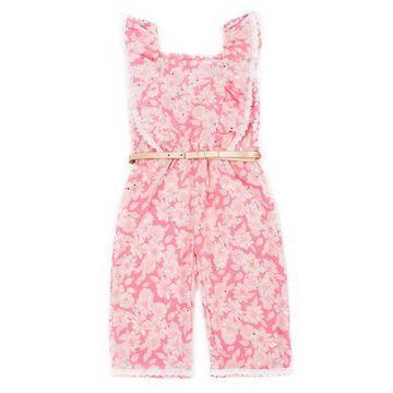 Toddler Girl Little Lass Floral Jumpsuit