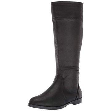 Bella Vita Womens Rebecca II Round Toe Knee High Fashion Boots