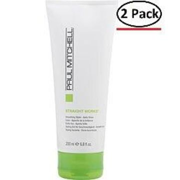 Paul Mitchell By Paul Mitchell Straight Works Straightens And Smoothes 6.8 Oz For Unisex (Package Of 2)