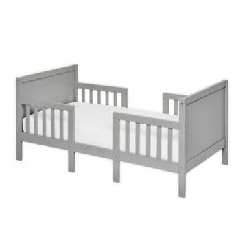 Dream On Me Hudson 3-In-1 Convertible Toddler Bed In Cool Grey