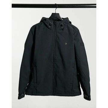 Farah Bective soft shell jacket in black