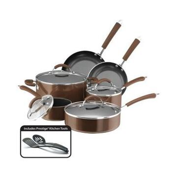 Farberware Millennium Aluminum Nonstick 12-Pc. Cookware Set