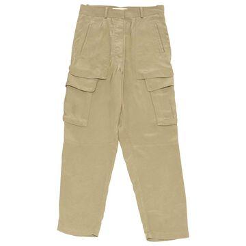 Vanessa Bruno Khaki Polyester Trousers