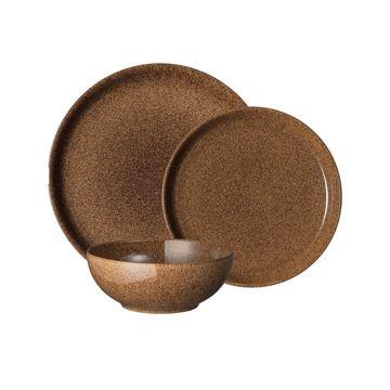 Studio Craft Chestnut 12 Piece Dinnerware Set, Service for 4