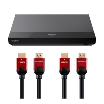 Sony UBP-X700 4K Ultra HD Blu-ray Player with HDMI Cables