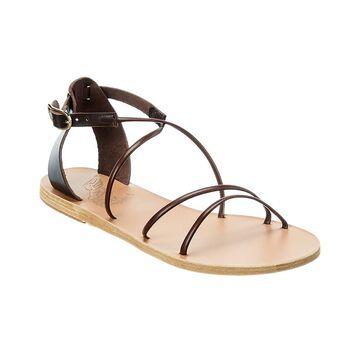 Ancient Greek Sandals Meloivia Leather Sandal