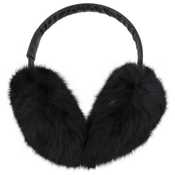 Moncler Black Rabbit Hair accessories