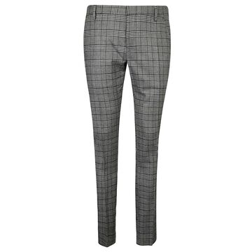 Entre Amis Checked Slim Trousers