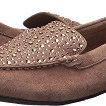 Volatile Women's Comfee Loafer, Taupe, 6.5 M US