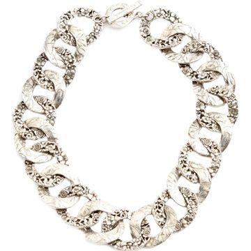 Kenzo Silver Metal Necklaces