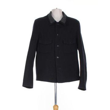 Yohji Yamamoto Blue Wool Jackets