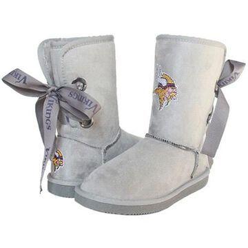 Women's Minnesota Vikings Cuce Champion Boots
