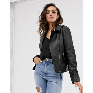 Y.A.S leather jacket