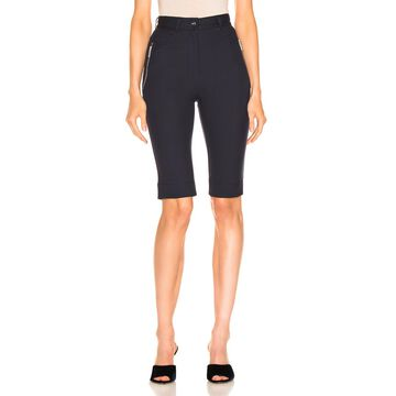 Dion Lee Highwaisted Short in Navy | FWRD