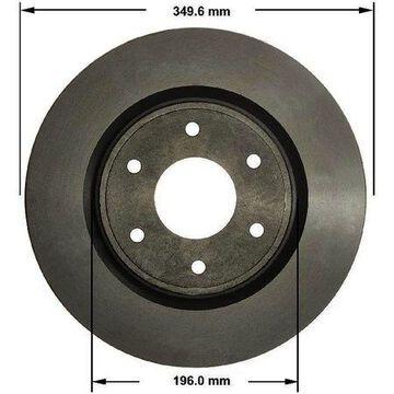 Front Brake Rotor, PRT5724