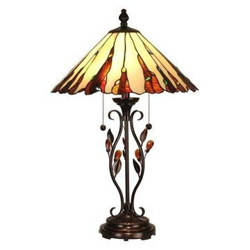 Dale Tiffany Ripley Nature-Inspired Lamp