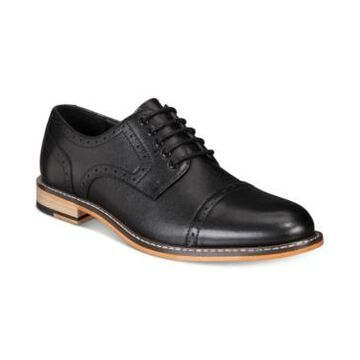 Bar Iii Men's Parker Leather Cap-Toe Brogues Created for Macy's Men's Shoes