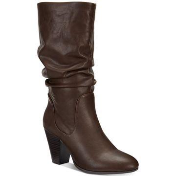 Oliana Memory-Foam Mid-Shaft Boots, Created for Macy's