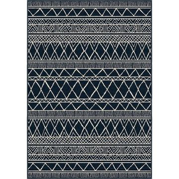 Orian Rugs Farmhouse Indoor/Outdoor Grand Turk Catalina Blue Rug - 7'9