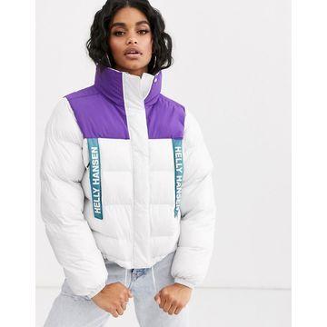 Helly Hansen P&C puffer jacket in white