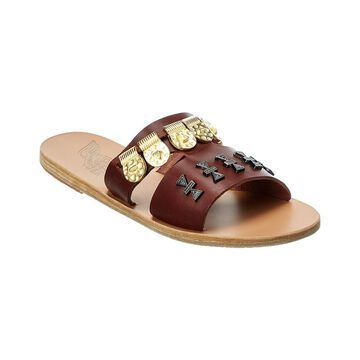 Ancient Greek Sandals Apteros Elements Leather Sandal