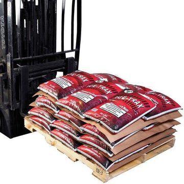 ''Box Partners Anti-Slip Pallet Paper 40'''' x 48'''' Kraft 100/Case KAS4840''