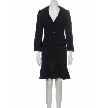 Skirt Suit Black
