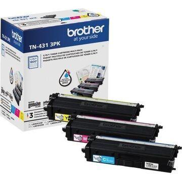 Brother TN-431 Original Toner Cartridge - Multi-pack - Cyan, Magenta, Yellow
