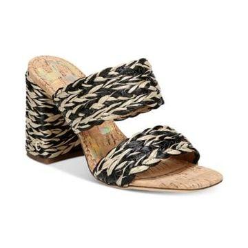 Circus by Sam Edelman Women's Estella Woven Double-Band Dress Sandals Women's Shoes