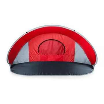 Picnic Time Manta Sun Shelter In Red/grey/silver