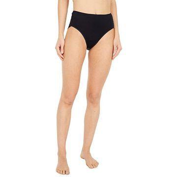 Hanro Luxury Moments Lace-Back Brief (Black) Women's Underwear