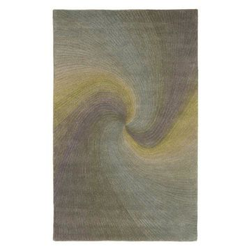 Trans Ocean Dunes Waves Blue Area Rug by Liora Manne 8'0''x10'0''