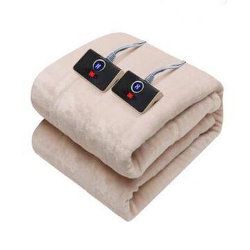 Westinghouse Reversible Heated Velour Blanket, Full/Queen Bedding