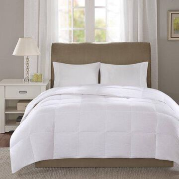 Comfort Classics 300 Thread Count 3M Scotchgard White Down Comforter, Level 1 - Twin