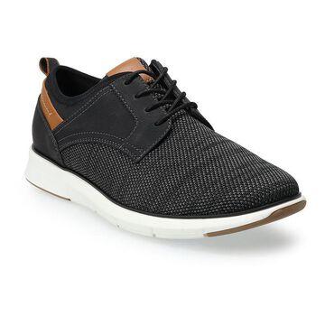 Sonoma Goods For Life Ronan Men's Mesh Oxford Shoes, Size: 12, Black