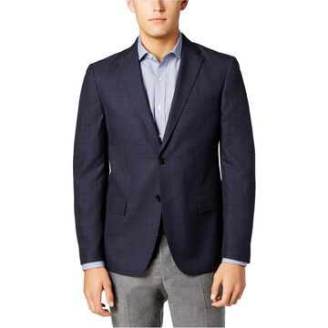 Ryan Seacrest Distinction Mens Windowpane Sport Coat