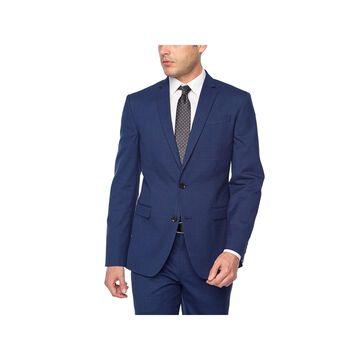 JF J.Ferrar Plaid Super Slim Fit Stretch Suit Jacket