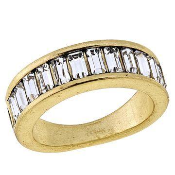 Heidi Daus Full of Possibilities Crystal Band Ring