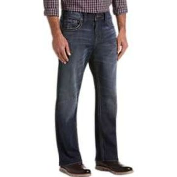 Silver Jeans Co. Gordie Dark Blue Wash Relaxed Fit Jeans