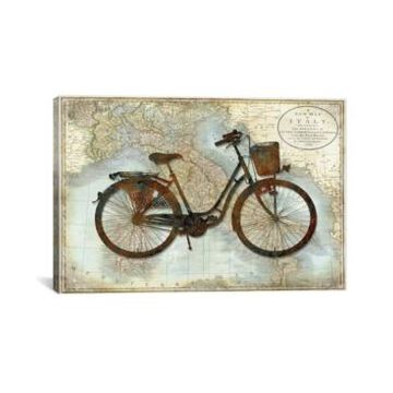 """iCanvas Bike Italy by Amanda Wade Wrapped Canvas Print - 26"""" x 40"""""""