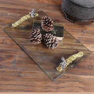 Uttermost Hive Glass Tray