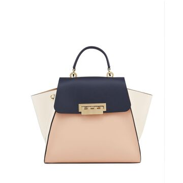 Eartha Colorblock Top Handle Crossbody Bag