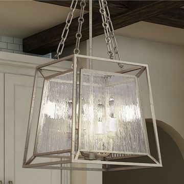 Quoizel Lakeside 4-light Cage Chandelier