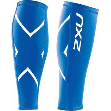 Unisex 2XU Compression Calf Guard - Color: Steel - Size: L