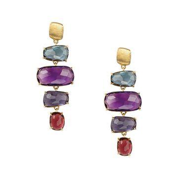 Marco Bicego Murrano 18K Gemstone Drop Earrings