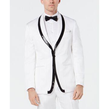 Men's Slim-Fit Sequin Dinner Jacket