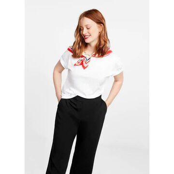 Violeta BY MANGO - Flowy pants black - 18 - Plus sizes