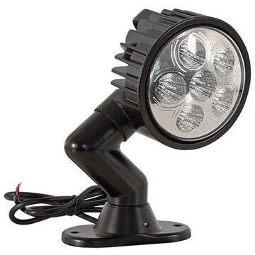 BUYERS PRODUCTS Spot Light, Round, LED, 1350 Lumens 1492126