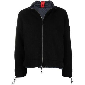 reversible zip-fastening jacket